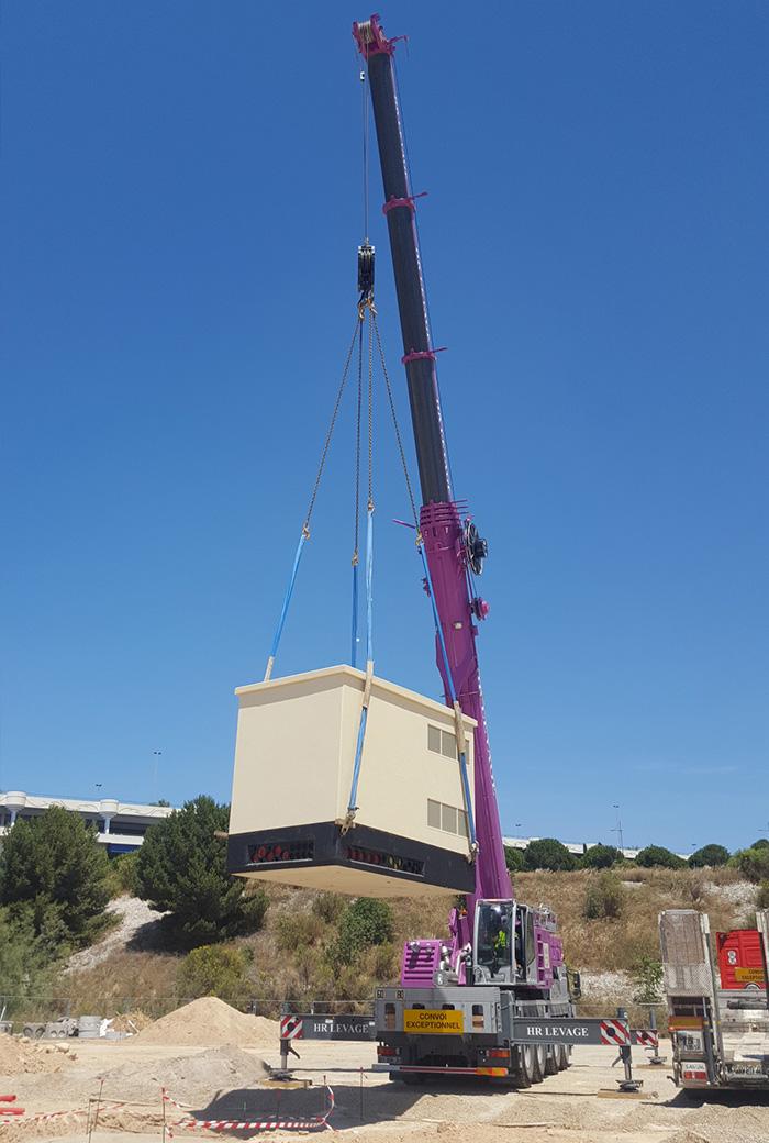 Fourniture et pose d'un poste de transformation MIF68 Marseille