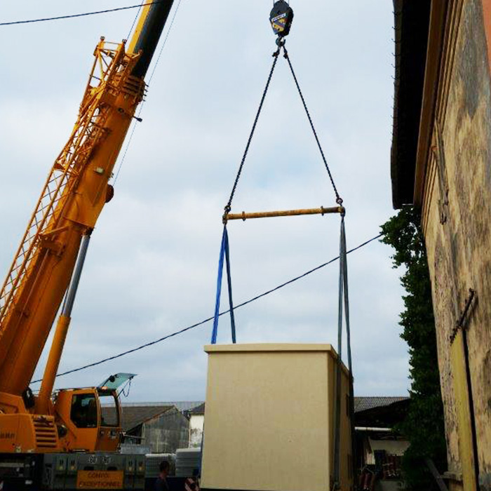 Installation électrique provisoire : la cabine SEREM